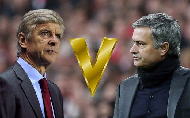 Head-to-head: Arsene Wenger and Jose Mourinho have not always been on ...
