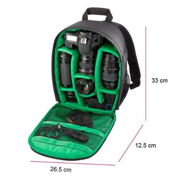 #Green waterproof dslr lens camera #backpack cover  bag case for  sony #nikon can,  View more on the LINK: http://www.zeppy.io/product/gb/2/262491644594/