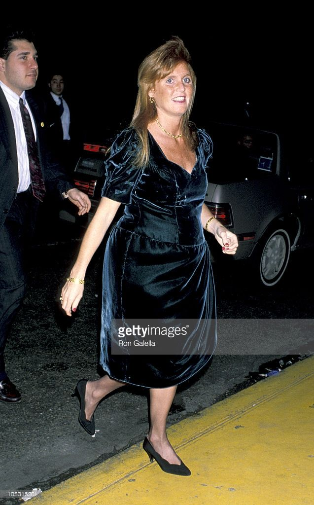 Sarah Ferguson Duchess of York on Feburary 12, 1990