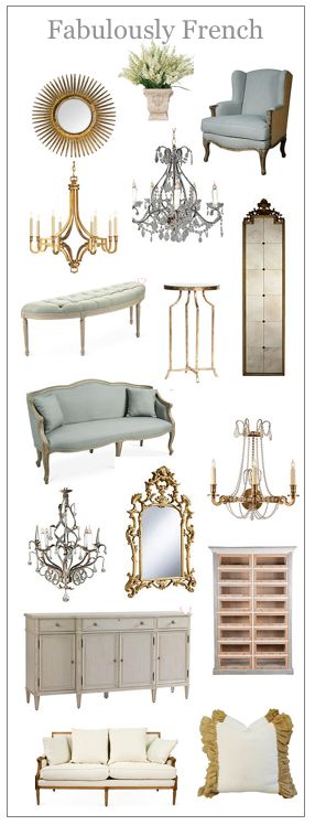 French mood board, French furniture, blue, French, Michelle, waiting room, linen, sofas, french story board, waiting room,