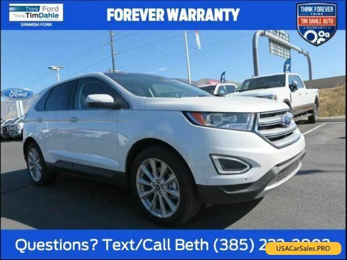 Car For Sale 2018 Ford Edge Titanium