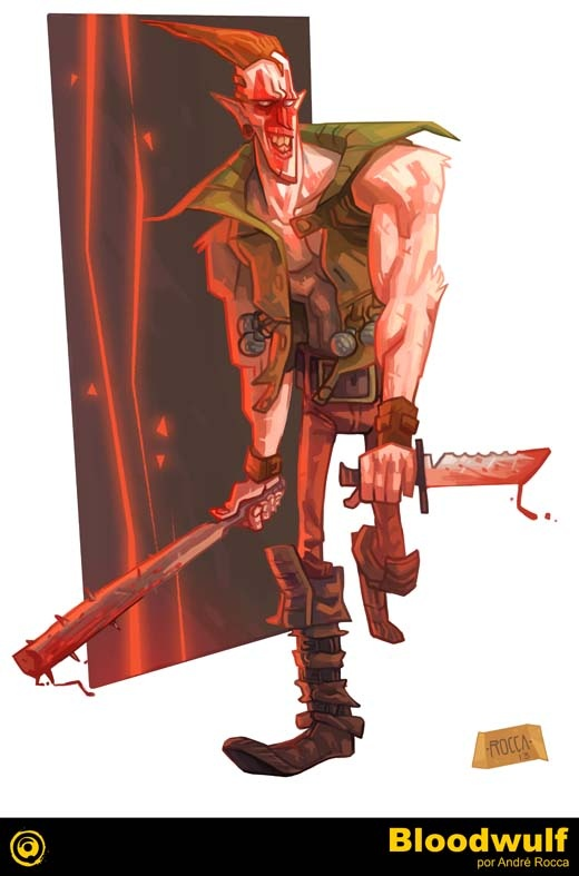 Bloodwulf (1995) comic books - mycomicshop.com