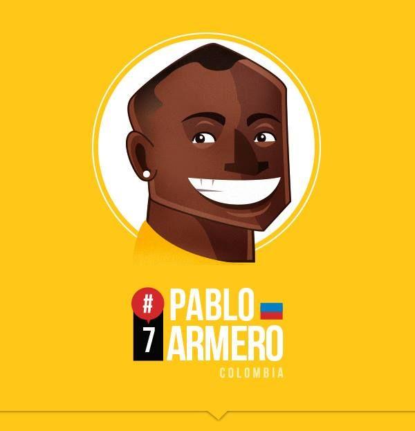 Pablo Armero by Petirojo