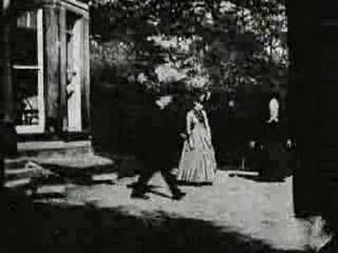 The first celluloid film created! Only 2 seconds, but you can see how people looked and moved in 1888. by Louis Le Prince.