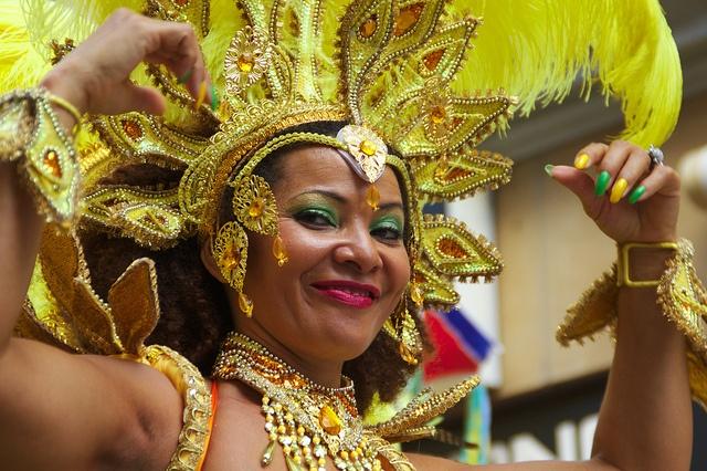 Samba Festival Coburg Tänzerin