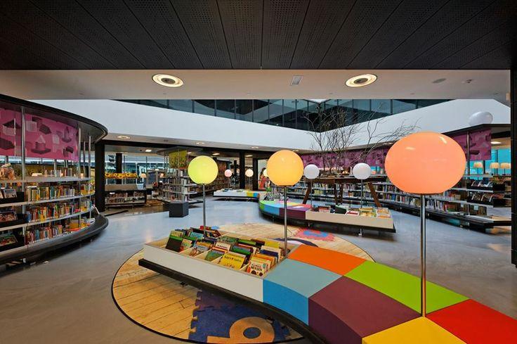Biblioteca en Almere, Holanda