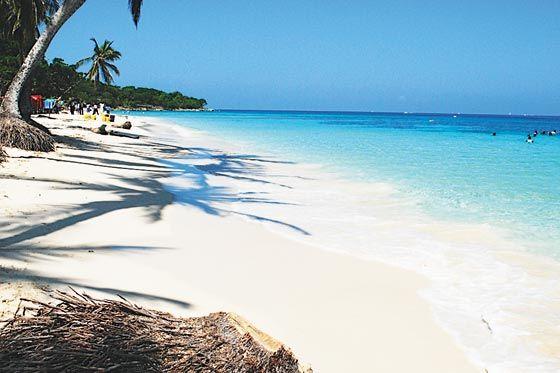 isla baru playa blanca - Colombia