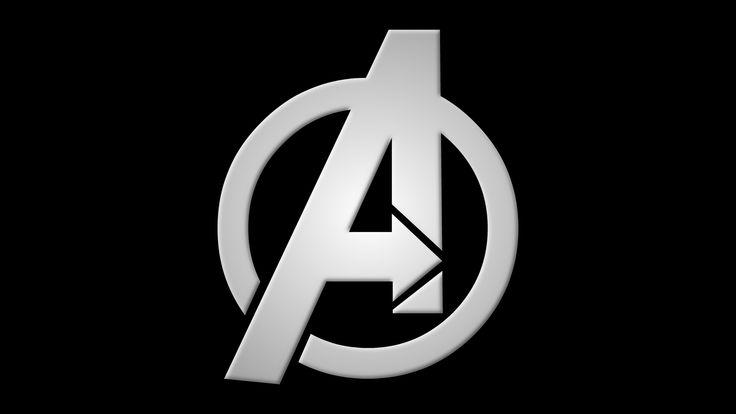 Images For > Avengers Logo Black And White | Marvel ...