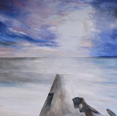 "Saatchi Online Artist Wietzie Gerber; Painting, ""Tranquility"" #art"