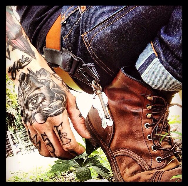 Red Wing Iron Rangers. #Motorcycle #Workboots #Laceupboots #boots #fashion At Eagle Ages we love Lace Up boots. You can find a great choice of second hands & vintage Work & Lace Up Boots in our store. At https://eagleages.com/shoes/boots/men-boots/igor.html