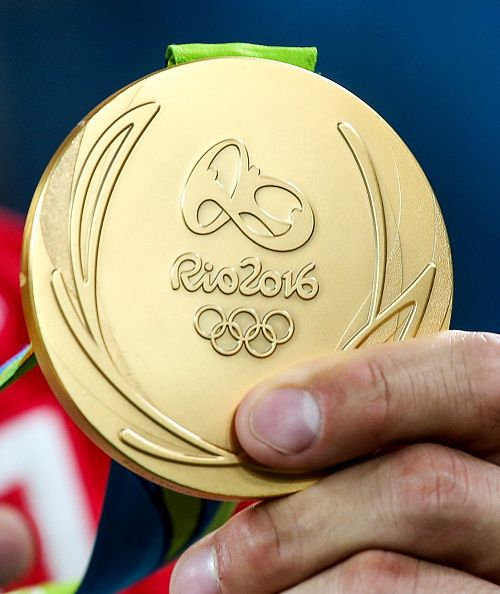 A gold medal of the Rio 2016 Summer Olympic Games Valery Sharifulin/TASS