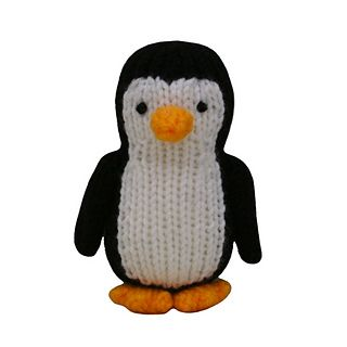 An easy to follow, delightful pattern for an adorable penguin! The penguin can be made cheaply out of oddments of double knitting yarn. The knitting pattern has clear row by row instructions and photographs to help you along the way. You will need to be able to knit, purl, cast on and off, increase and decrease, change colours and sew seams. All pieces are knitted flat on straight needles.