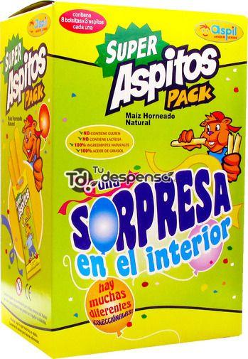 Super Aspitos Pack (Eroski) - 1 bolsita de 3 unidades 0,5 puntos.