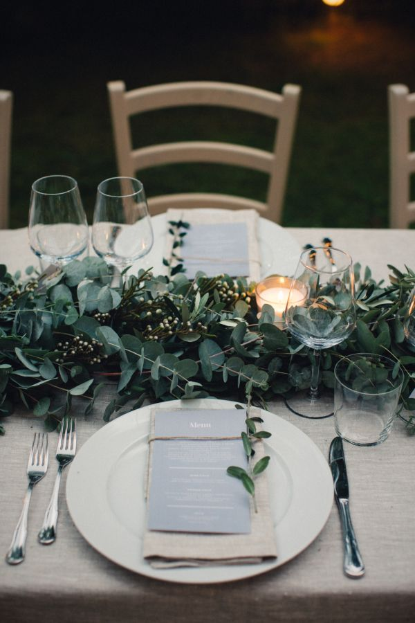 The Vault: Curated & Refined Wedding Inspiration - Style Me Pretty Elegant table settings and Reception Styling
