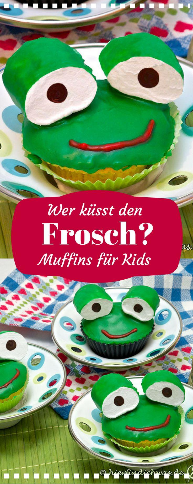 Muffin bzw. Cupcake Rezept für Kinder. Ideal natürlich für einen Kindergeburtstag oder für ein Schmunzel im Gesicht.