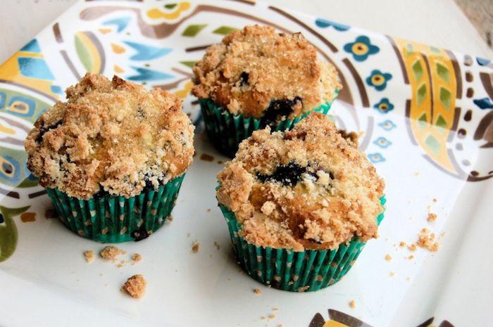 Lemon and Blueberry GF Muffins