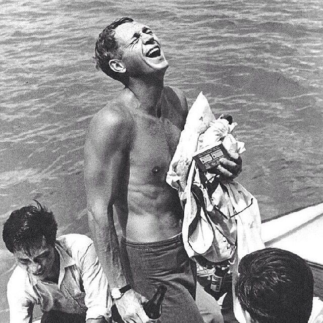 Steve McQueen | During the Filming of The Sand Pebbles | 1966 | as Jake Holman