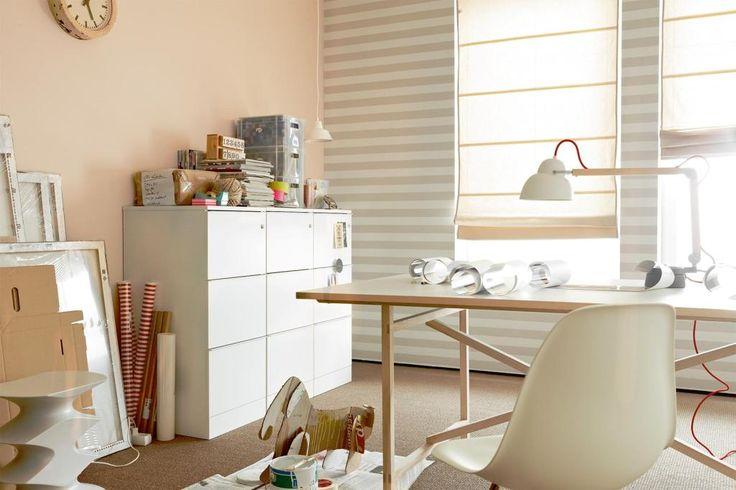 Sand Schoner Wohnen Trendfarbe Stuhl Buro Wandfarbe Schreibtisch Arbeitszimmer Wandgestalt Schoner Wohnen Farbe Schoner Wohnen Trendfarbe Schoner Wohnen