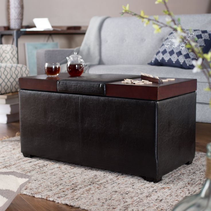Have to have it. Belham Living Madison Lift Top Upholstered Storage Ottoman - $149.98 @hayneedle
