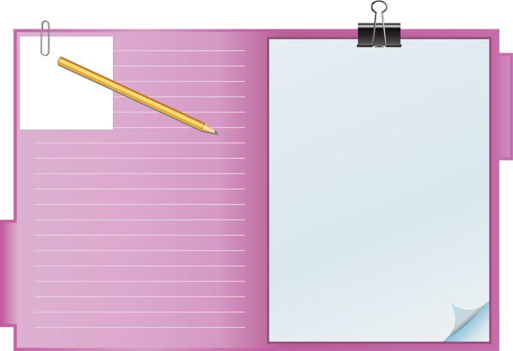 картинка рамка блокнот заметить
