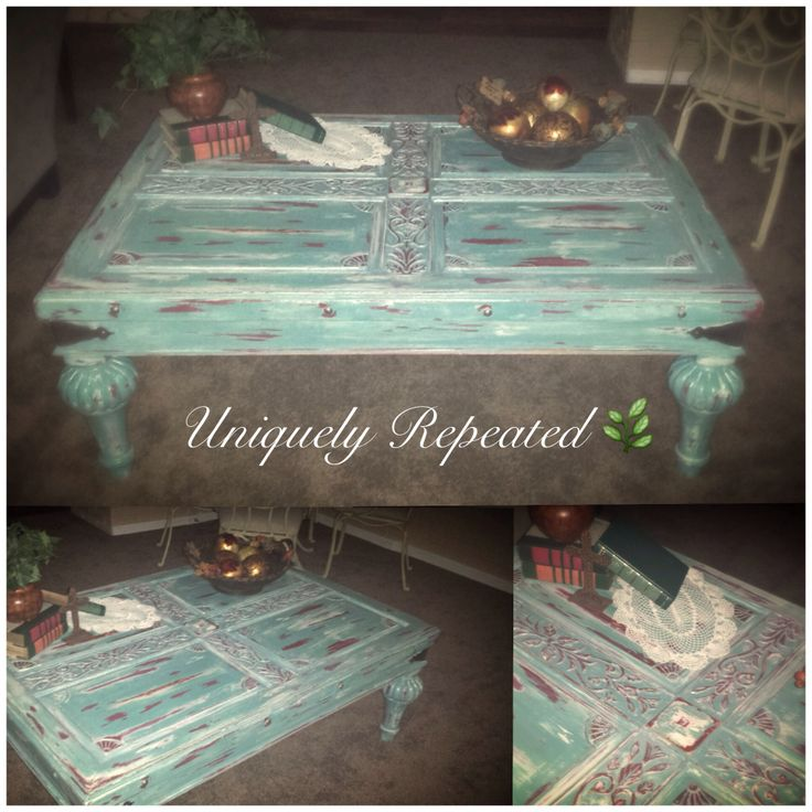 1000+ Images About Distressed Coffee Table On Pinterest