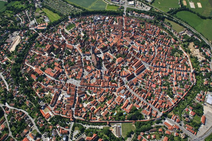 Nördlingen, Germany | 27 Incredible Views You'd Only See If You Were A Bird