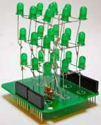 Look What Joey's Making!: 3x3x3 LED Cube Arduino Shield Directions