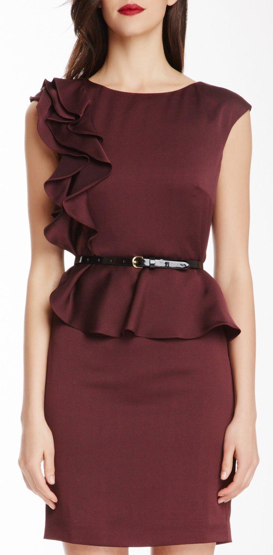 Peplum dress                                                                                                                                                                                 Más