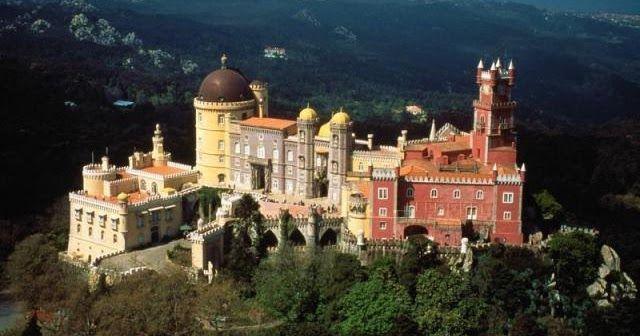 Castelos e Palácios de Sintra #viagem #lisboa #portugal