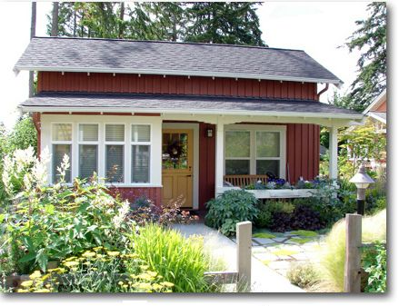 This website has plans for the most darling small homes and cottages, perfect for guest houses/in-law suites.