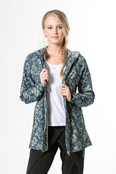 Floral Faded Denim - Wendys Wallflower Blues Jacket