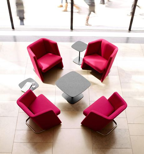 Talk by Keilhauer is a seating system created to accommodate and optimize face-to-face meetings. #keilhauer #arenson #seating