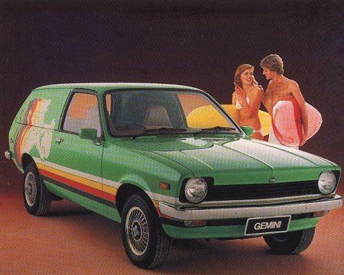 TD Holden Gemini Van Design Concept