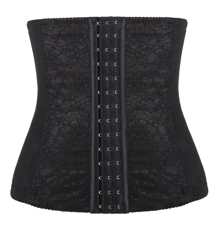Womens Steel Boned Waist Cincher Elastic Sexy Underbust Corset Bustier. Elastic lace and mesh. Material: 90% Polyester, 5% Cotton, 5% Elastane. Comes with 9 Piece Spiral steel bones under bust waist corset top. Package Contents: 1 * corset. Note: the amazon size chart is inaccurate; Please refer to the size detail on product description when you are ready to buy the itemss.