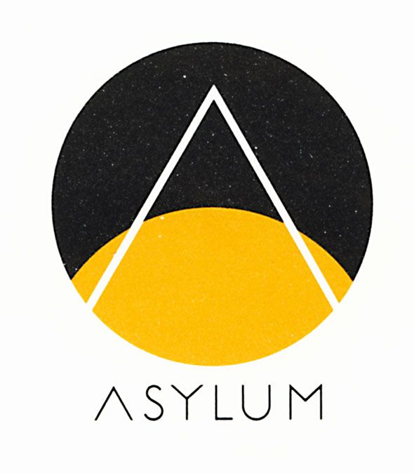 Asylum Records logo - Milton Glaser