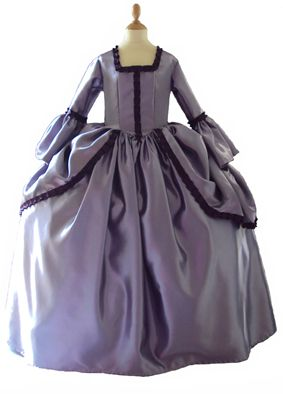 robe Marquise Pompadour