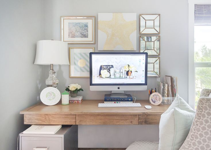 Stylish Home Office Accessories: 1000+ Images About Dainty Desks/Inviting Office Space On