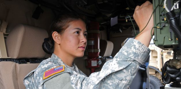 Did you know that Army Reserve jobs offer opportunities in a wide variety of areas? In fact, almost all Army Reserve jobs can be found in the civilian world, giving you a competitive advantage. Career fields include law enforcement, medicine, engineering and information technology, which can further your civilian and Army Reserve careers.