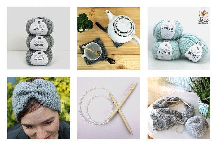 On reste au chaud et on tricote avec les laines Rico Design - Décoavenue - Cabinet de curiosités créatives