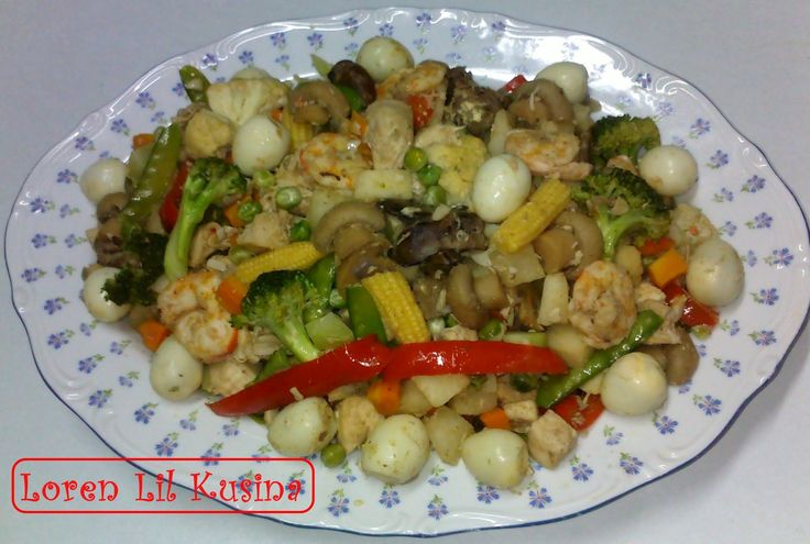 Vegetables with Quail eggs recipe - This dish is made of Mixed Veggies with Quail Eggs, yummy delicious very healthy Easy and simple, you can add your favorite choice of meat or add different Veggies if you want to make it your own, Perfect Match for your Main Dish or best side dish. (adjust the cooking time as needed)