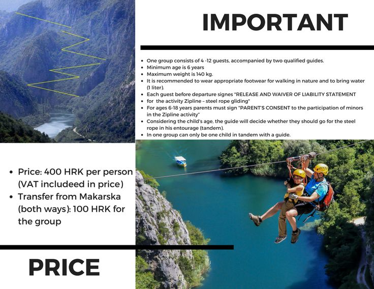 ZIP line over river Cetina canyon in Croatia! That's what we call an active holiday!