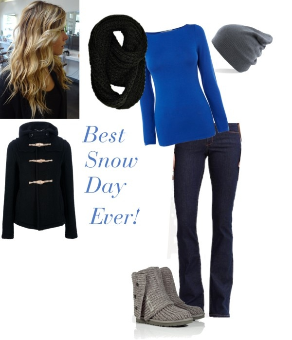 """Best Snow Day Ever!"" by tomodel on Polyvore"