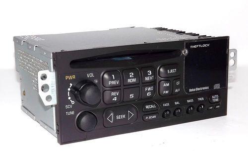 Chevy Car & S10 Truck AMFM CD Radio w iPod Aux IN FACE 1995-2002 90 Day Warranty