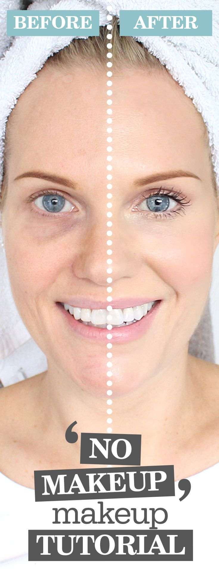 Ever woken up, looked in the mirror and felt as though there was a ZOMBIE starting back at you? Don't worry, me too! Click this pin now to discover my latest tutorial! Then you too can transform that morning zombie, in 5 easy steps! http://www.beautyandtheboutique.tv/no-makeup-makeup-tutorial/ #MakeUp #MakeUpTutorial #MakeUpArtist