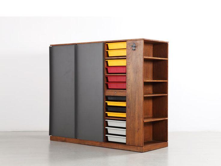 Charlotte Perriand and Le Corbusier Wardrobe, 1956-59