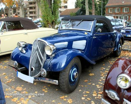 Citroën Traction Avant 7S Cabriolet                                                                                                                                                                                 Plus