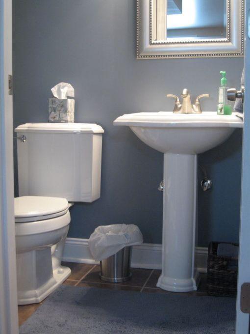 Blue And Silver Bathroom Barn Blue Bathroom Benjamin