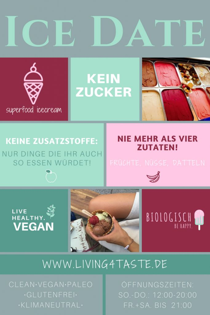 Vegane Bio-Eismanufaktur: Das perfekte Ice Date. - Living4Taste