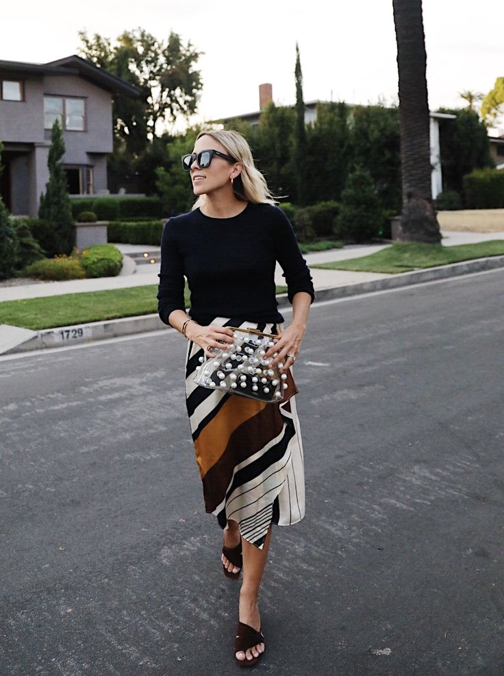 Damsel in Dior | Stripes and Neutrals