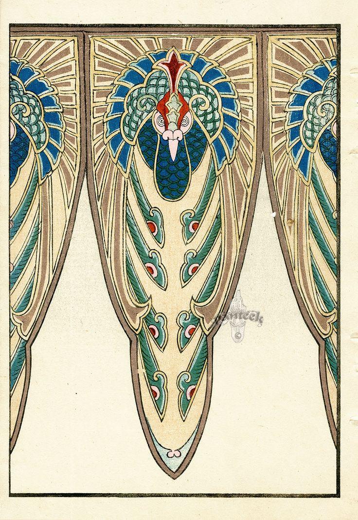 54 best images about art nouveau design patterns on. Black Bedroom Furniture Sets. Home Design Ideas